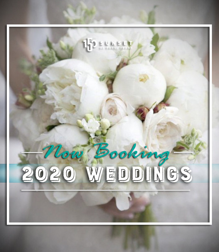 Now Booking 2020 Weddings!