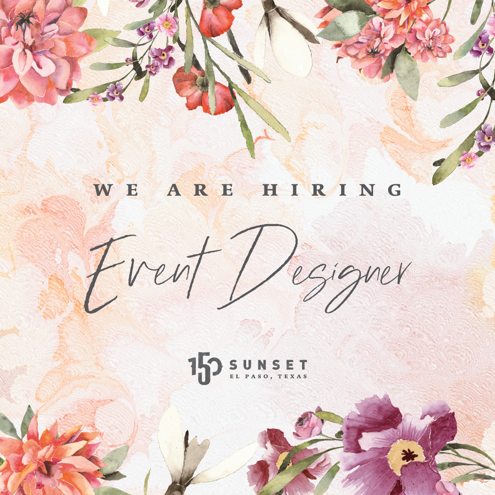 Now Hiring Event Designer